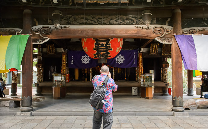 Rokkaku-do Temple (六角堂) -- Kyoto, Japan -- Copyright 2015 Jeffrey Friedl, http://regex.info/blog/