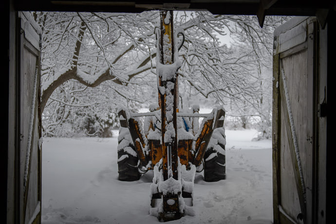 Dad's Backhoe -- Rootstown, Ohio, United States -- Copyright 2016 Jeffrey Friedl, http://regex.info/blog/