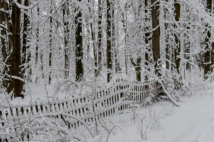 Old Fence -- Rootstown, Ohio, United States -- Copyright 2016 Jeffrey Friedl, http://regex.info/blog/