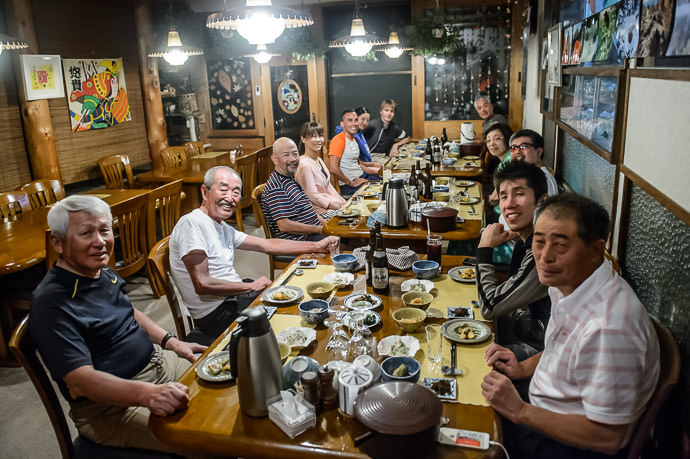 Ready For a Well -Earned Meal Pension Norikura (ペンソンのりくら) -- Pension Norikura (ペンソンのりくら) -- Matsumoto, Nagano, Japan -- Copyright 2016 Jeffrey Friedl, http://regex.info/blog/