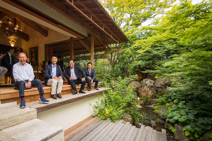 Pre-Dinner Mingling -- AIC秋津洲京都 -- Kyoto, Japan -- Copyright 2017 Jeffrey Friedl