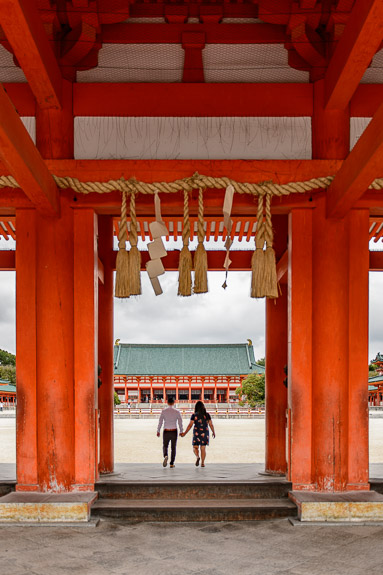 Heian Shrine (平安神宮) -- Kyoto, Japan -- Copyright 2017 Jeffrey Friedl, http://regex.info/blog/