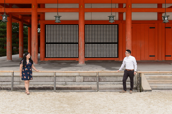 Silly Pose I dunno. Worth a try. For me, their laughing at it makes it. -- Heian Shrine (平安神宮) -- Kyoto, Japan -- Copyright 2017 Jeffrey Friedl, http://regex.info/blog/