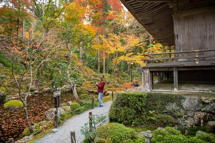 """ Secret Path "" that's not secret; I had simply never noticed it. -- Sanzen-in Temple (三千院) -- Kyoto, Japan -- Copyright 2018 Jeffrey Friedl, http://regex.info/blog/"