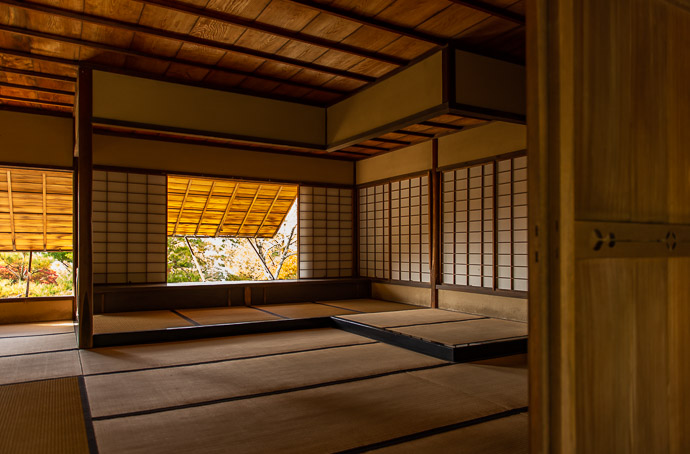 Wigglegram of a Tea House at the Shugakuin Imperial Villa in Kyoto