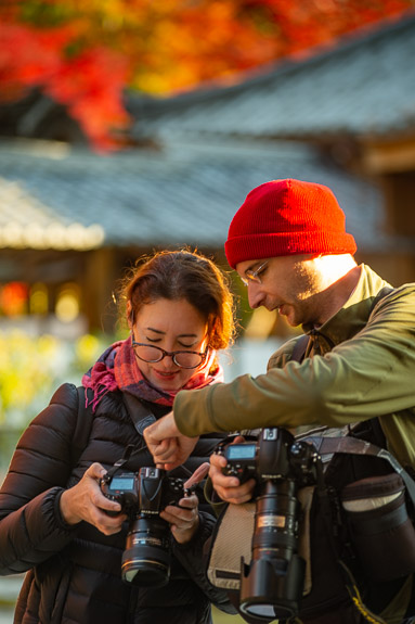 Comparing Camera Settings at the Eigenji Temple (永源寺) -- Eigenji Temple (永源寺) -- Higashiomi, Shiga, Japan -- Copyright 2018 Jeffrey Friedl, http://regex.info/blog/