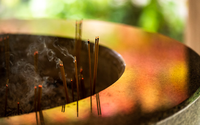 desktop background image of incense offerings at the Kongorinji Temple (金剛輪寺), Shiga Prefecture, Japan. -- Offerings -- Kongorinji Temple (金剛輪寺) -- Echi, Shiga, Japan -- Copyright 2018 Jeffrey Friedl, http://regex.info/blog/ -- This photo is licensed to the public under the Creative Commons Attribution-NonCommercial 4.0 International License http://creativecommons.org/licenses/by-nc/4.0/ (non-commercial use is freely allowed if proper attribution is given, including a link back to this page on http://regex.info/ when used online)