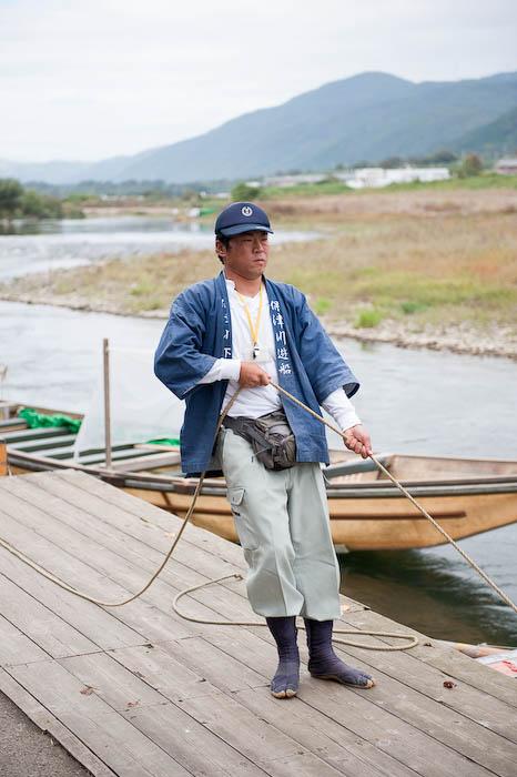 Boat Worker Guy -- Kyoto, Japan -- Copyright 2008 Jeffrey Friedl, http://regex.info/blog/
