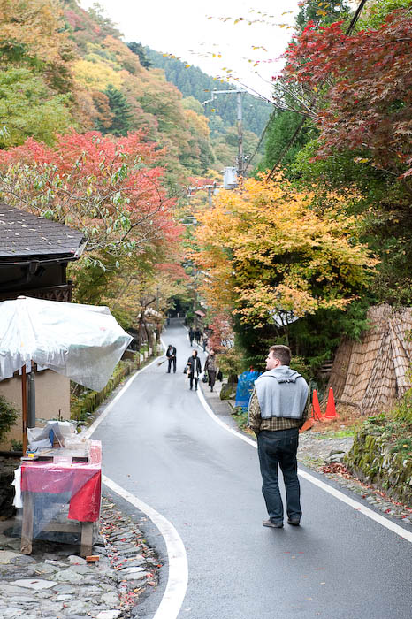 Thomas Strolling in Kibune  --  Kyoto, Japan  --  Copyright 2008 Jeffrey Friedl, http://regex.info/blog/