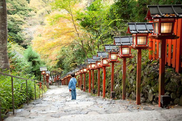 View from the Top -- Kibune -- Kyoto, Japan -- Copyright 2008 Jeffrey Friedl, http://regex.info/blog/