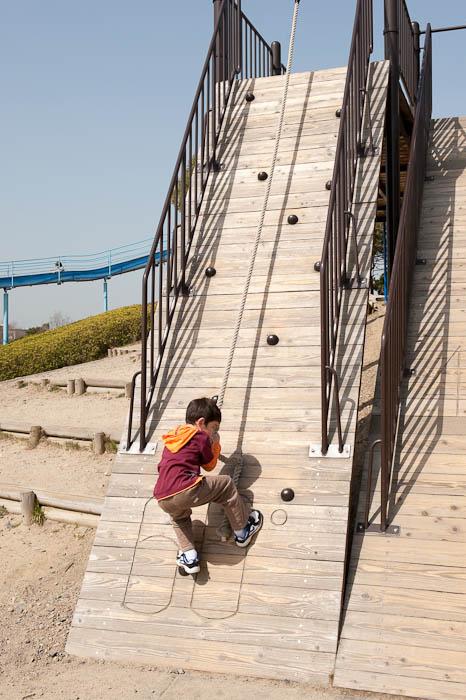 Going For 60° -- Yabasekihantou -- Kusatsu, Shiga, Japan -- Copyright 2009 Jeffrey Friedl, http://regex.info/blog/