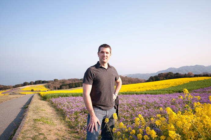 Yours Truly Photo by Anthony Friedl -- Awaji Hana Sajiki -- Awaji, Hyogo, Japan -- Copyright 2009 Jeffrey Friedl, http://regex.info/blog/