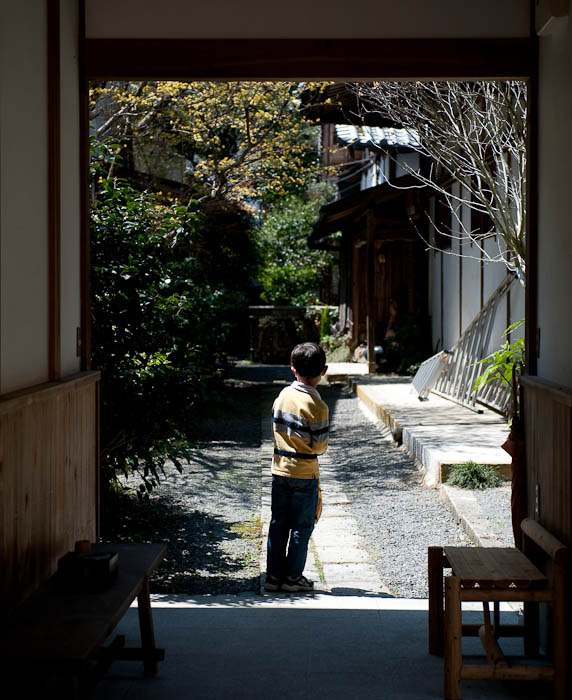 Curiosity -- Konzou Temple -- Kyoto, Japan -- Copyright 2009 Jeffrey Friedl, http://regex.info/blog/