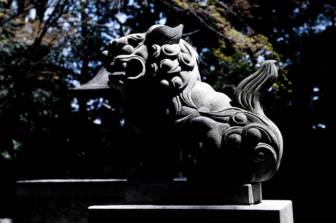 Lion Guardian -- Konzou Temple -- Kyoto, Japan -- Copyright 2009 Jeffrey Friedl, http://regex.info/blog/