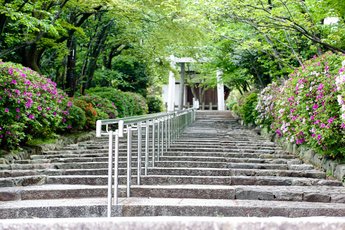 Entrance to the Munetada Shrine -- Kyoto, Japan -- Copyright 2009 Jeffrey Friedl, http://regex.info/blog/