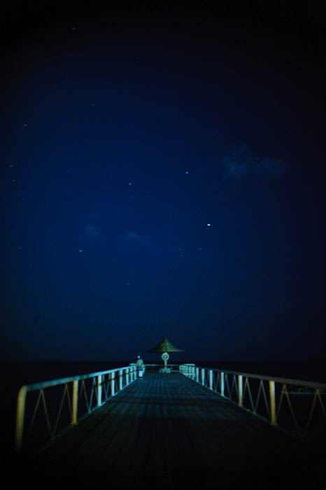 Fumie on the Pier -- Ishigaki, Okinawa, Japan -- Copyright 2009 Jeffrey Friedl, http://regex.info/blog/