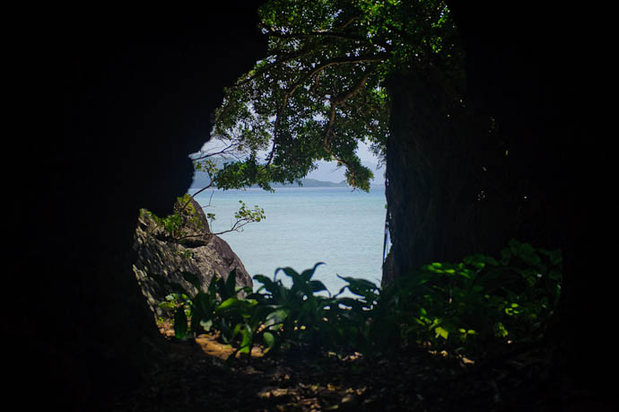 View from the Cave -- Ishigaki, Okinawa, Japan -- Copyright 2009 Jeffrey Friedl, http://regex.info/blog/