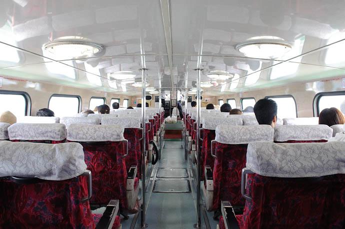 Inside Our Boat -- Ishigaki, Okinawa, Japan -- Copyright 2009 Jeffrey Friedl, http://regex.info/blog/