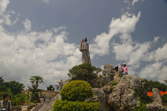 High Point on the Island -- Taketomi Island, Okinawa, Japan -- Copyright 2009 Jeffrey Friedl, http://regex.info/blog/
