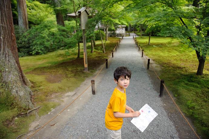 Serious Moment? -- Sanzen-in Temple -- Kyoto, Japan -- Copyright 2009 Jeffrey Friedl, http://regex.info/blog/