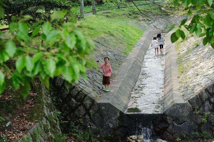 It has Rocks to be Thrown Gen -- Ojigaoka Park -- Otsu, Shiga, Japan -- Copyright 2009 Jeffrey Friedl, http://regex.info/blog/