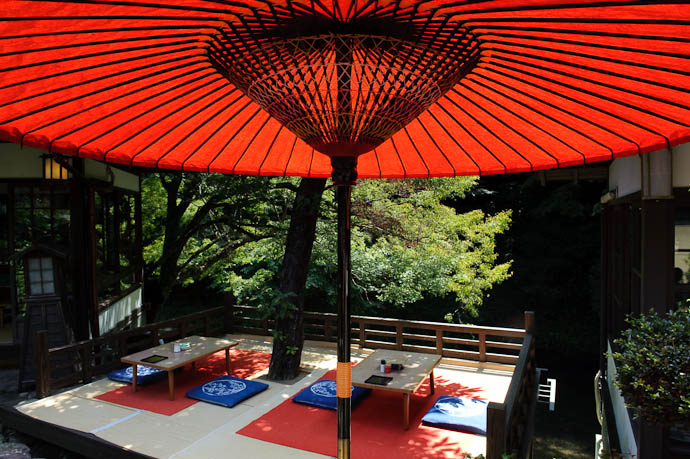 Toganojaya Restaurant -- Kyoto, Japan -- Copyright 2009 Jeffrey Friedl, http://regex.info/blog/