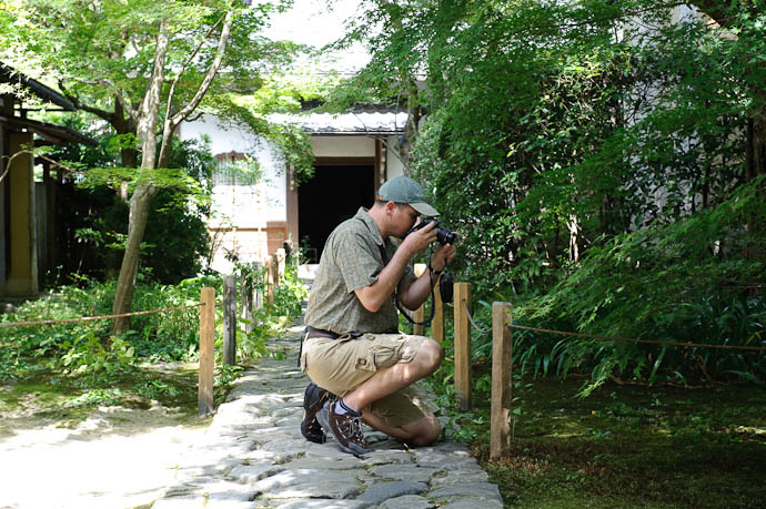 Photo Op -- Renge-ji Temple -- Kyoto, Japan -- Copyright 2009 Jeffrey Friedl, http://regex.info/blog/