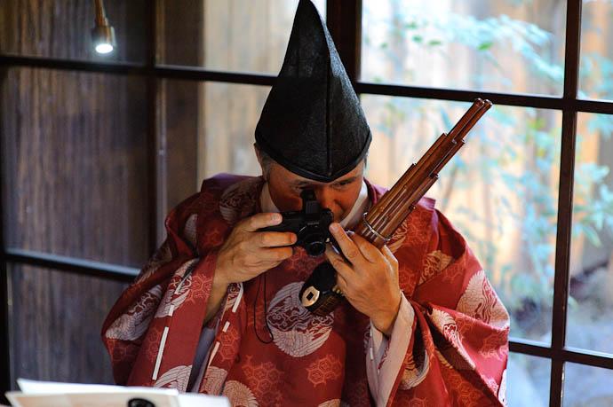 Shou and Ricoh Photo by Zak Braverman -- Kyoto, Japan -- Copyright 2009 Zak Braverman, http://regex.info/blog/