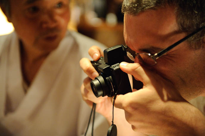 Nakamura-san — Ricoh Compact — Stéphane Barbery -- Kyoto, Japan -- Copyright 2009 Jeffrey Friedl, http://regex.info/blog/