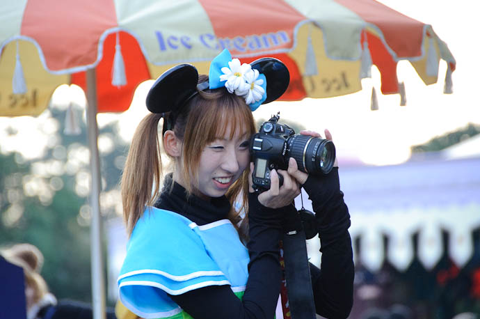 Blue Idunno -- Tokyo Disneyland -- Urayasu, Chiba, Japan -- Copyright 2009 Jeffrey Friedl, http://regex.info/blog/