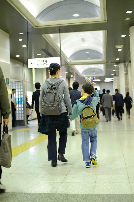 One of the Many Underground Passageways at Tokyo Station -- Tokyo, Japan -- Copyright 2009 Jeffrey Friedl, http://regex.info/blog/