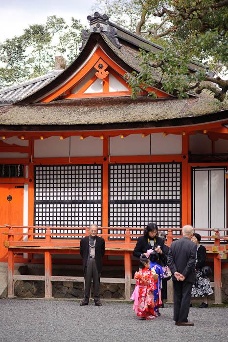 Families Waiting for the Event to Begin -- Yoshida Shrine -- Kyoto, Japan -- Copyright 2009 Jeffrey Friedl, http://regex.info/blog/