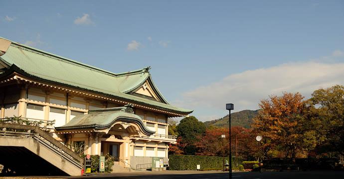 "Kyoto Municipal Museum of Art ""annex"" sub-building -- Kyoto, Japan -- Copyright 2009 Jeffrey Friedl, http://regex.info/blog/"