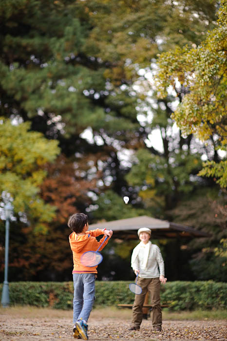 Forehand Setup -- Kyoto Gosho, the grounds of the old imperial palace. -- Kyoto, Japan -- Copyright 2009 Jeffrey Friedl, http://regex.info/blog/