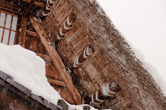 Roof Detail -- Nanto, Toyama, Japan -- Copyright 2010 Jeffrey Friedl, http://regex.info/blog/