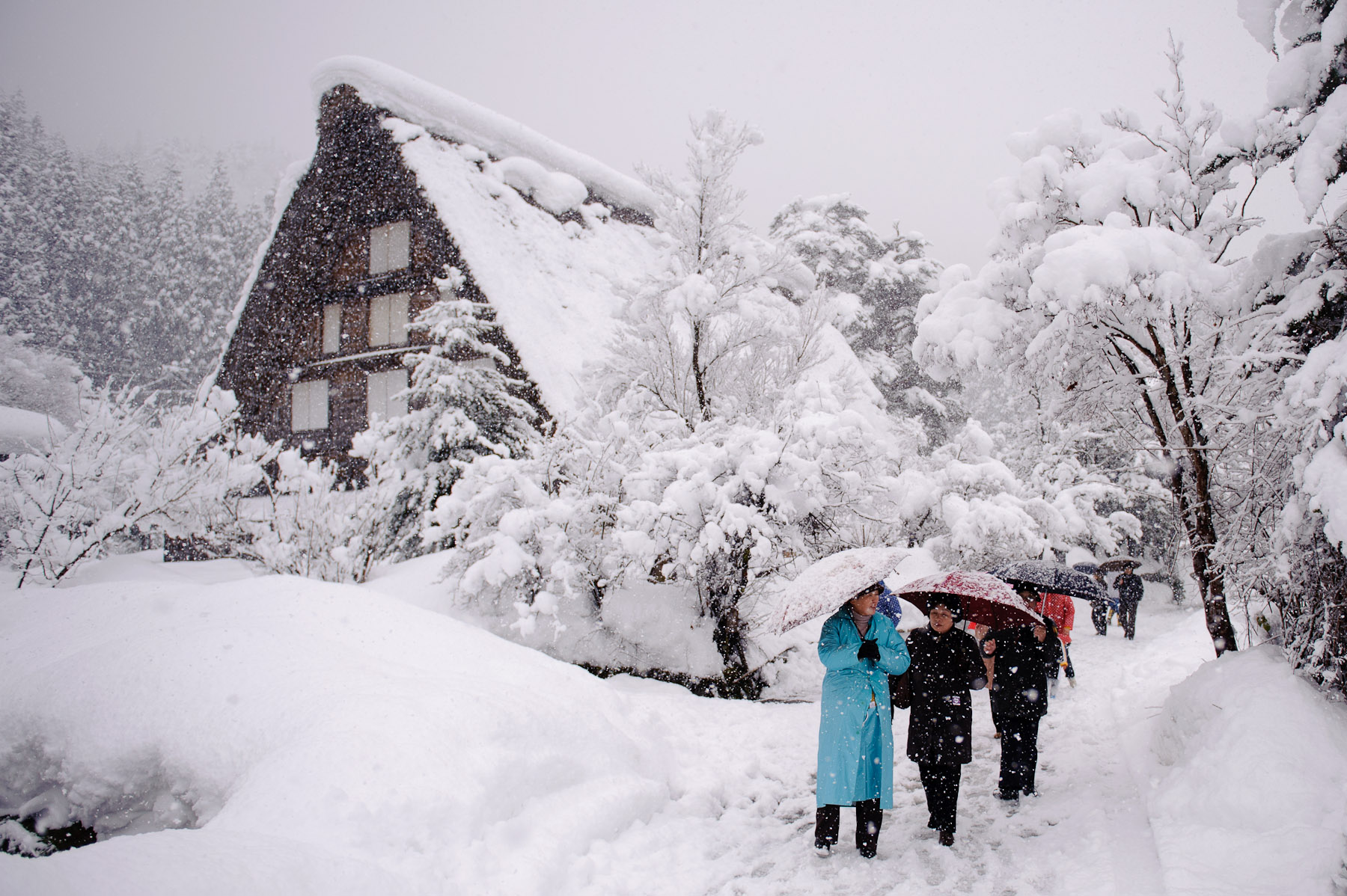 Jeffrey Friedl S Blog 187 First Look At Snowy Shirakawago