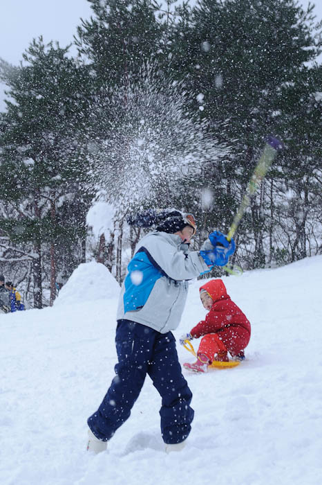 Direct Hit! -- Makino Ski Area -- Takashima, Shiga, Japan -- Copyright 2010 Jeffrey Friedl, http://regex.info/blog/