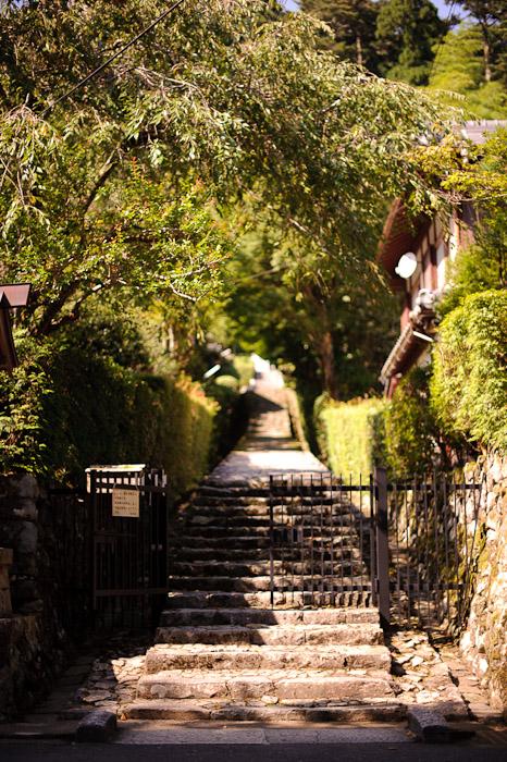 Entrance to Somewhere -- Jakkouin Temple -- Kyoto Sakyo Ward, Kyoto Prefecture, Japan -- Copyright 2010 Jeffrey Friedl, http://regex.info/blog/