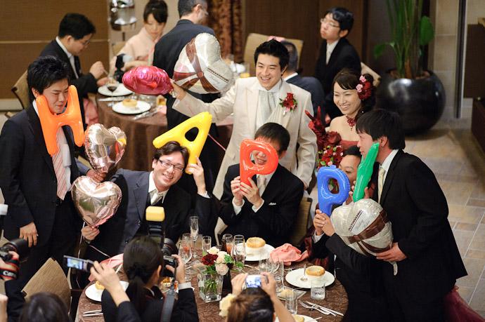 H A P P Y -- Wedding of Shogo and Namiko -- Nagoya, Aichi, Japan -- Copyright 2010 Jeffrey Friedl, http://regex.info/blog/