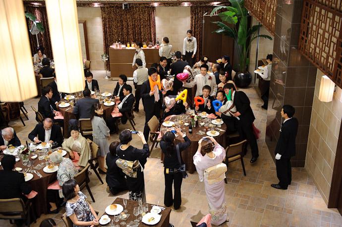 Table #2 of Ten -- Wedding of Shogo and Namiko -- Nagoya, Aichi, Japan -- Copyright 2010 Jeffrey Friedl, http://regex.info/blog/