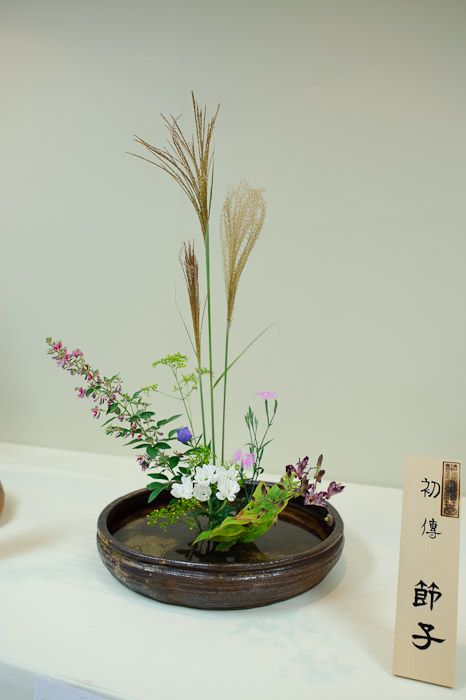 A Bit Too Far documents the entire thing, but is snooooozeville -- Ikebana Show -- Kyoto, Japan -- Copyright 2010 Jeffrey Friedl, http://regex.info/blog/