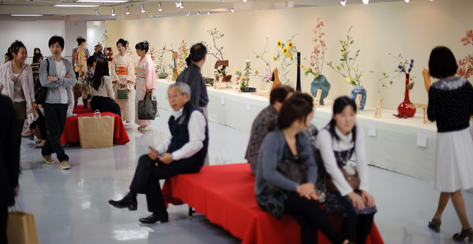 Ikebana Show -- Kyoto, Japan -- Copyright 2010 Jeffrey Friedl, http://regex.info/blog/