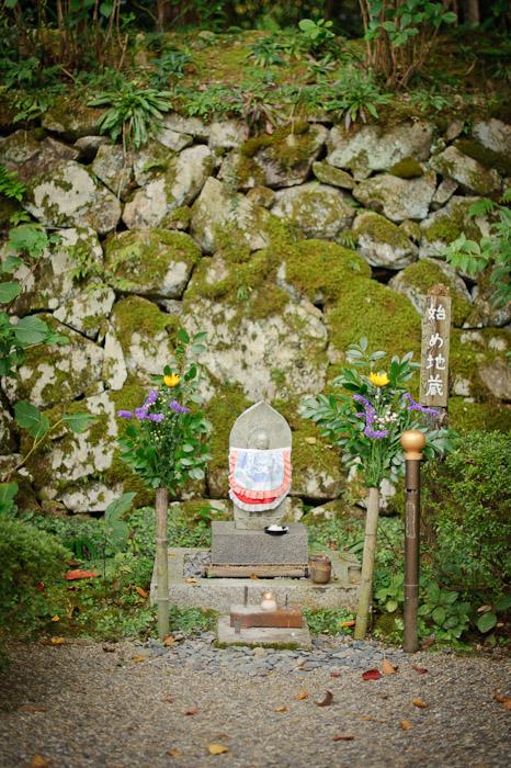 The Temple's First Jizou -- Kongourinji Temple (金剛輪寺) -- Aisho, Shiga, Japan -- Copyright 2010 Jeffrey Friedl, http://regex.info/blog/