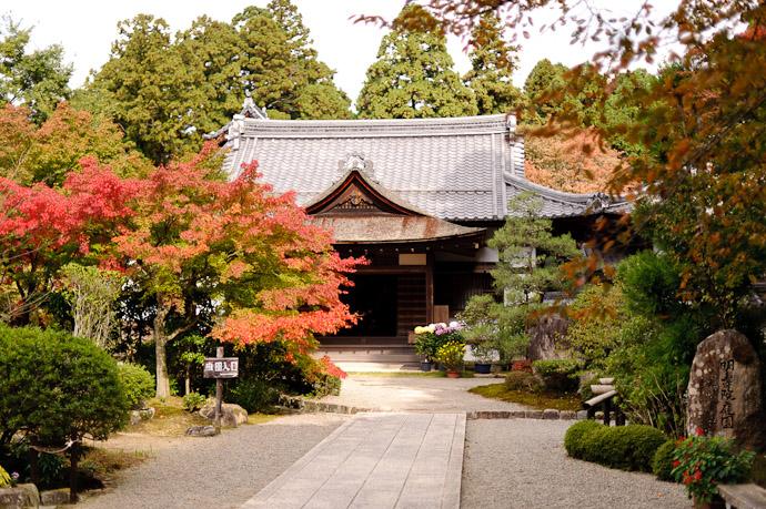 desktop background image of a mini garden on the way to the main garden of the Kongourinji Temple in Shiga, Japan -- Kongourinji Temple (金剛輪寺) -- Aisho, Shiga, Japan -- Copyright 2010 Jeffrey Friedl, http://regex.info/blog/