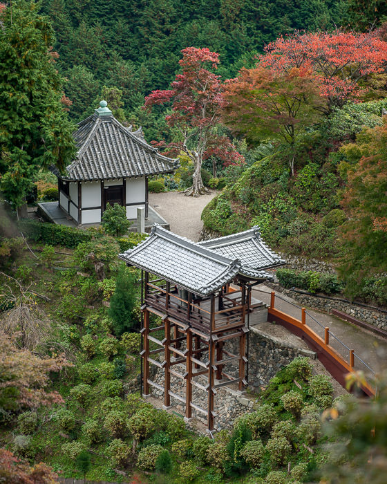 processing by Werner Gansz -- Yoshiminedera Temple (善峯寺) -- Kyoto, Japan --