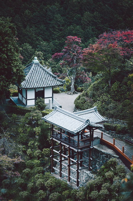 processing by Austen -- Yoshiminedera Temple (善峯寺) -- Kyoto, Japan --