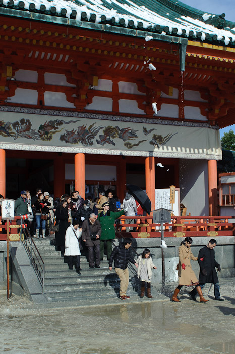 First Splat -- Heian Shrine -- Kyoto, Japan -- Copyright 2011 Jeffrey Friedl, http://regex.info/blog/