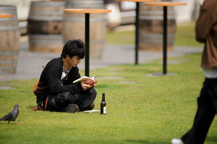 """My Time"" -- Tokyo Midtown -- Minato Ward, Tokyo, Japan -- Copyright 2011 Jeffrey Friedl, http://regex.info/blog/"