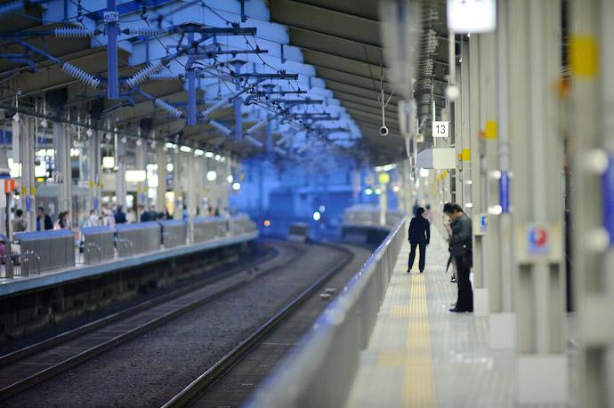 """""""13"""" -- Kyoto Station (京都駅) -- Kyoto, Japan -- Copyright 2011 Jeffrey Friedl, http://regex.info/blog/"""