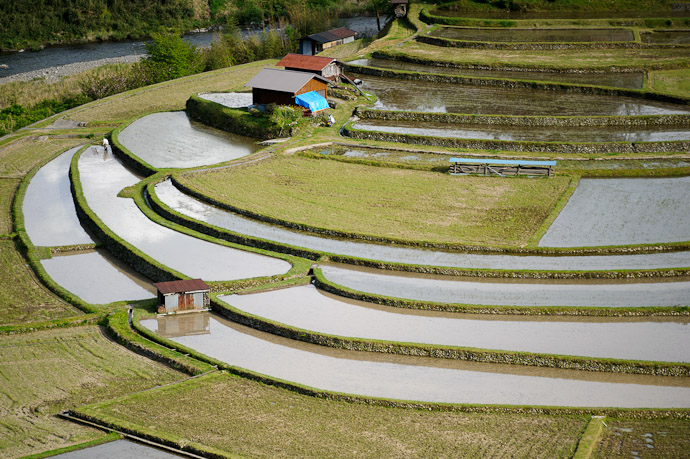 Aragijima Rice Terraces (蘭島) -- Aridagawa, Wakayama, Japan -- Copyright 2011 Jeffrey Friedl, http://regex.info/blog/